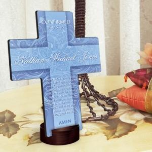 JDS Personalized Cross: Twinkling Star