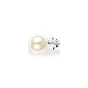Mariell Lavish 6-Row Pearl & Crystal Bridal Illusion Bracelet: Ivory/AB