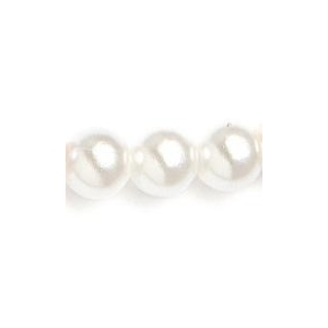 Mariell Graduated Pearl & Crystal Bridal Earrings: White/AB