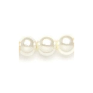 Mariell Pearl Drop Flower Girl Earrings: Ivory