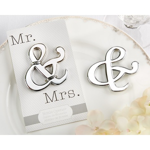 Mr. & Mrs., Ampersand Bottle Opener