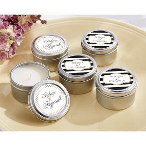 Personalized Travel Candle: Classic