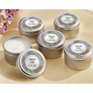 Personalized Travel Candle: Travel and Adventure