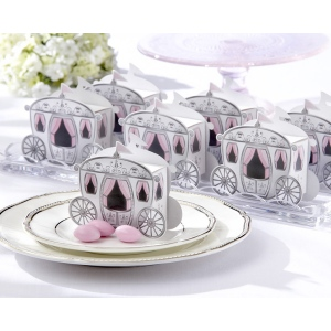 Enchanted Carriage, Favor Boxes: Set of 24