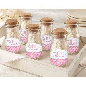Personalized Milk Jar, Little Peanut: Set of 12