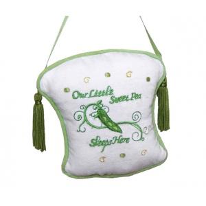 """Lillian Rose Sweet Pea Door Hanger: 10.5"""""""