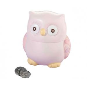 Lillian Rose Pink Owl Bank