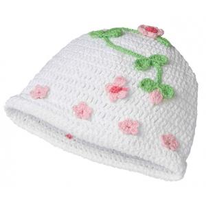 Lillian Rose Blessing Crocheted Cap