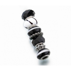 Lillian Rose Assorted Beads: Black, Set of 7