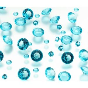Lillian Rose Diamond Confetti - Aqua