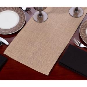 Lillian Rose Burlap Table Runner-Blank