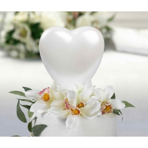 Lillian Rose Heart Caketop