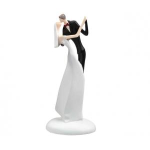 Lillian Rose Kissing Figurine White Caketop