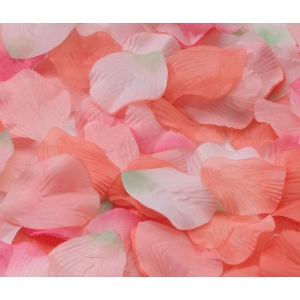 Lillian Rose Rose Petals - Orange/Pink