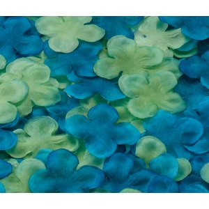 Lillian Rose Flower Petals - Blue/Green