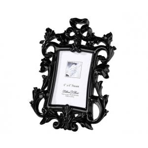 Lillian Rose Black Scroll Frame 4 x 6