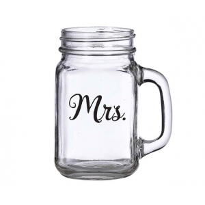 Lillian Rose Mrs. Mason Jar Mug