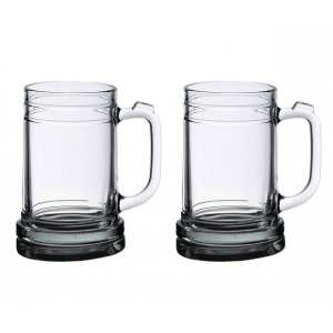 Lillian Rose Set of 2 Beer Mugs