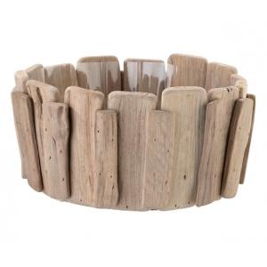 Lillian Rose Wood Basket For Chips