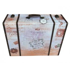 Lillian Rose True Love Suitcase Card Box - Dark Tones