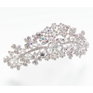 Lillian Rose Silver Plated Comb Tiara