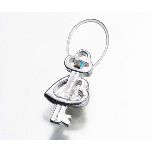 Lillian Rose Heart with Key Toe Ring