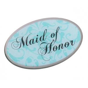 Lillian Rose Maid of Honor Pin - Aqua