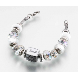 Lillian Rose Bride Charm Bracelet