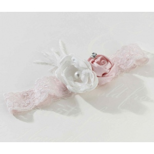 Lillian Rose Vintage Garter - Blush