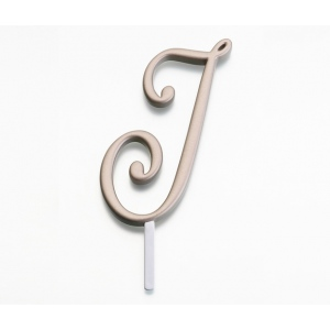 Lillian Rose Gold Monogram - J