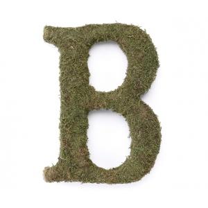 Lillian Rose Large 15 inch Moss Monogram Letter - B