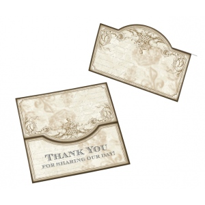 Lillian Rose Set of 24 Gold Place cards