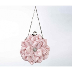 Lillian Rose Flower Purse - Pink