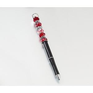 Lillian Rose Beaded Pen - Red