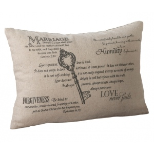 Lillian Rose Christian Key Ring Pillow