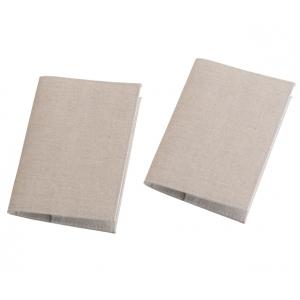 Lillian Rose Set of 2 Tan Passport Covers - Blank