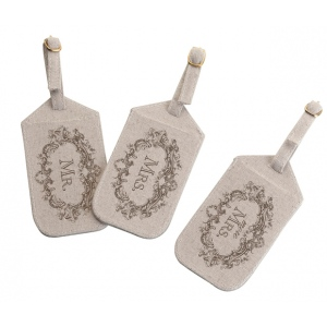 Lillian Rose Mr. Mrs. More Mrs. Luggage Tags