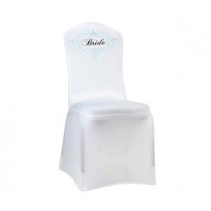 Lillian Rose Bride Chair Cover - White