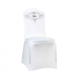 Lillian Rose Mr. Chair Cover White