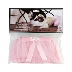 Lillian Rose Flower Dog Skirt - Pink