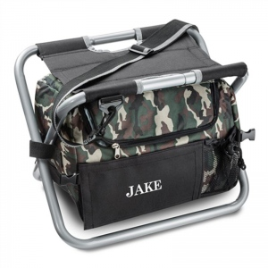 JDS Deluxe Camouflage Sit n' Sip Cooler Seat