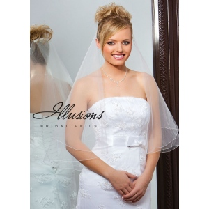 Illusions Bridal Corded Edge Veil FC7-302-C