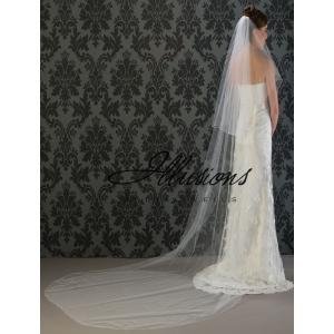 Illusions Bridal Corded Edge Veil C7-1202-C