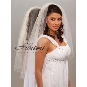 Illusions Bridal Corded Edge Veil 7-361-C