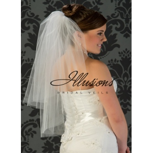 Illusions Bridal Cut Edge Veil S7-302-CT