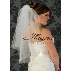 Illusions Bridal Cut Edge Veil S7-302-CT
