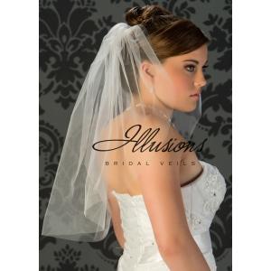 Illusions Bridal Cut Edge Veil 7-251-CT