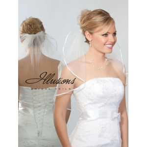 Illusions Bridal Ribbon Edge Veil 7-201-1R