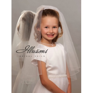 Illusions Bridal Flower Girl and First Communion Veils MFC-252-C