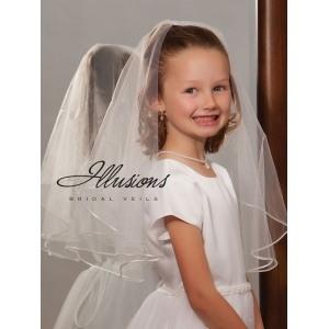 Illusions Bridal Flower Girl and First Communion Veils MFC-202-RT